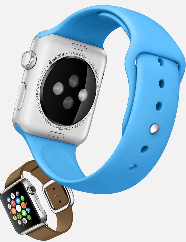 Apple Watch Sport Sensors