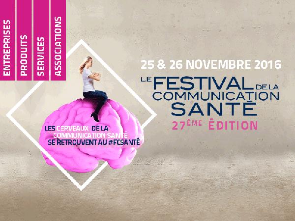 Festival de la Communication Santé 2016