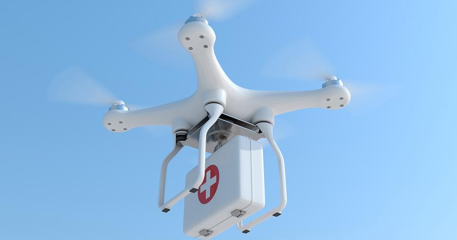 Des Drones Pour Voler Au Secours De Notre Santé