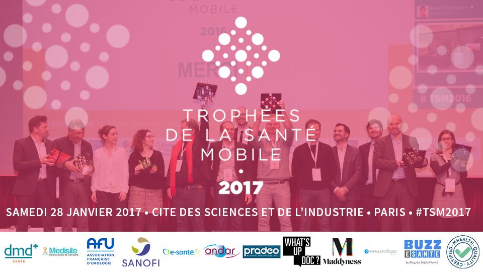Le Club Digital Santé partenaire des Trophées de la Santé Mobile 2017