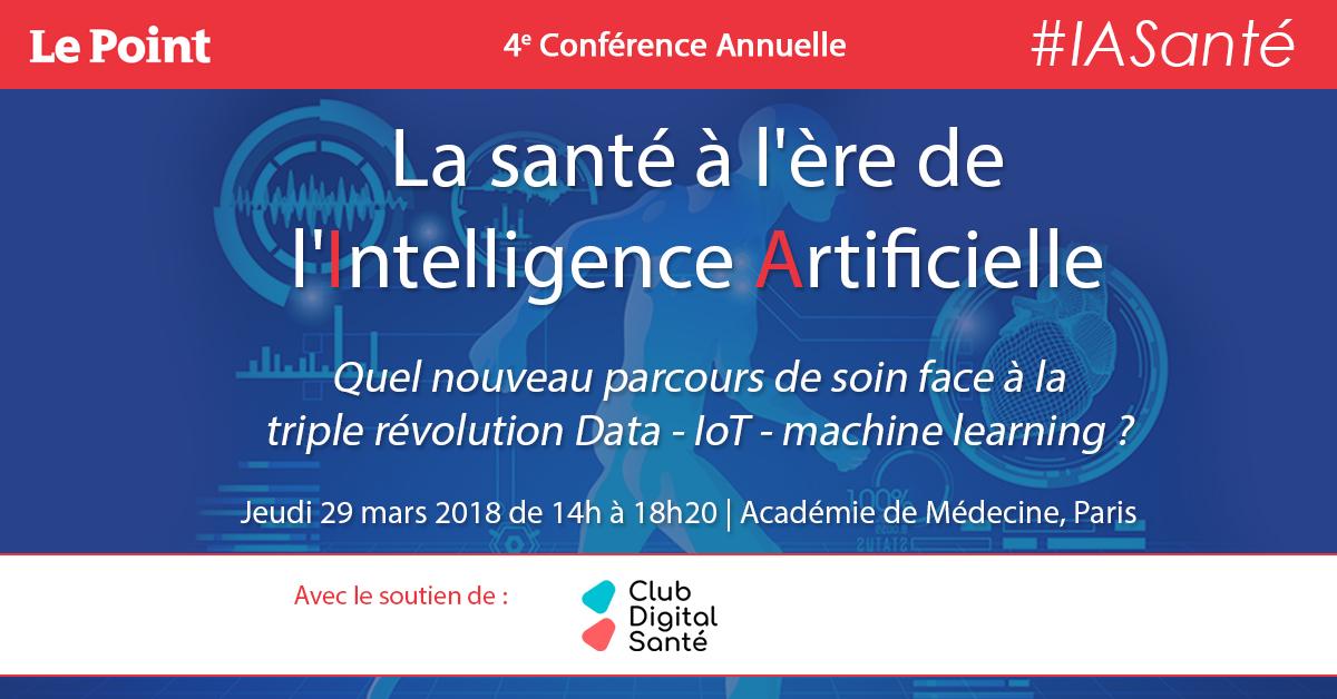 La Santé à L'ère De L'Intelligence Artificielle : Inscriptions Ouvertes !